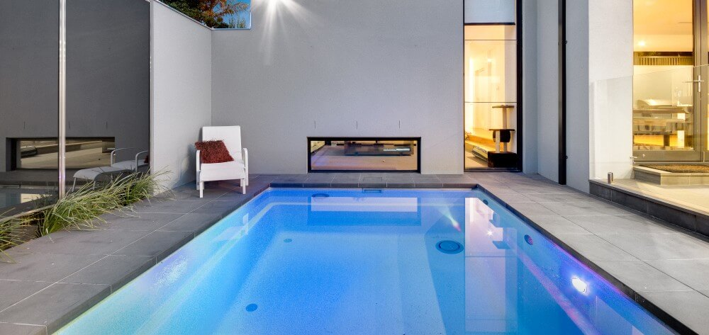 Pool Guide Fibreglass plunge pool by Compass Pools